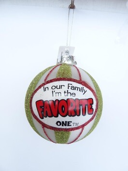 In Our Family Xmas Baubles - Favourite