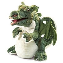 Folkmanis Puppet / Baby Dragon