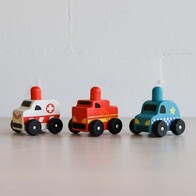 Discoveroo - Squeaker Emergency Car Set