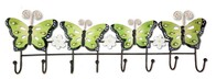 Metal Butterfly Hook - Green
