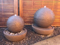 Concrete Ball Water Feature 80cm x 85cm