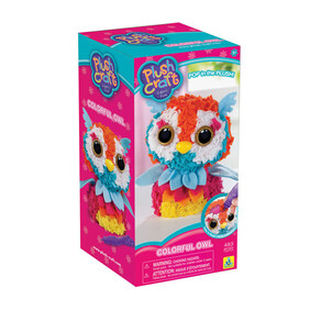 Plush Craft - Colorful Owl
