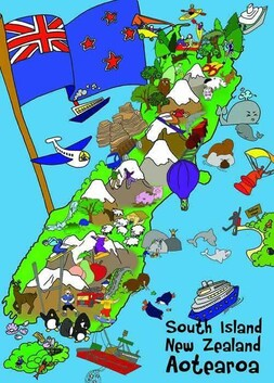 What Makes NZ Puzzle / South Island