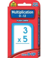 School Zone Flash Cards - Multipication 0-12