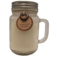 Mason Jar Candle 11oz - Nutmeg