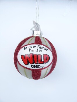 In Our Family Xmas Baubles - Wild