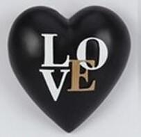 Collectable Heart - Black LOVE