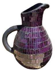 Mosaic Jug / Purple