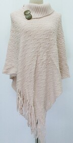 Poncho - Side Tassel and Buttons