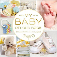 My Baby Record Book - Yellow