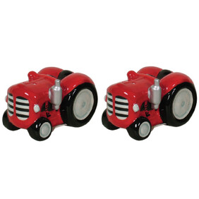 Salt & Pepper Set - Tractor / Red