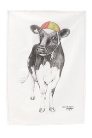 Krystal Lynn Tea Towel - Coco the Cow