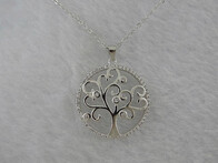 Sterling Silver - Tree of Life Pendant
