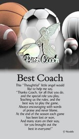 z Affirmation Angel Pin - Best Coach
