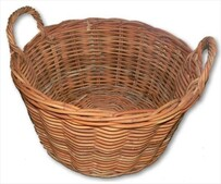 Wood Basket / Medium