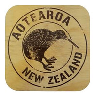 NZ Wood Coaster / Kiwi