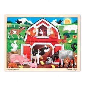 Barn Yard Wooden Puzzle