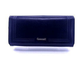Genuine Blue Leather Wallet