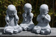 See, Hear & Speak No Evil Buddha - set of 3