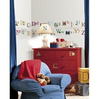 RoomMates Peel and Stick Wall Decals / Alphabet