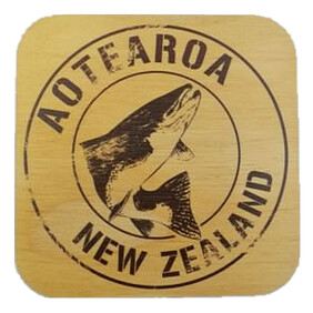 NZ Wood Coaster / Trout