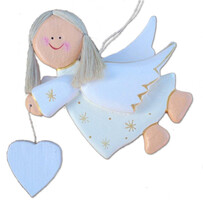 Wooden Angel Cream (L)