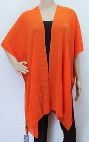 Cape - Accordion Pleat Orange