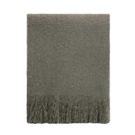 Cosy Throw - Charcoal