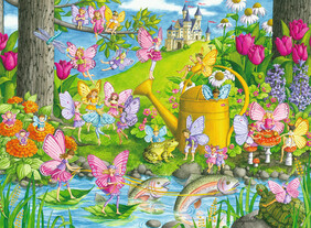 Ravensburger Puzzles - Fairy Playland