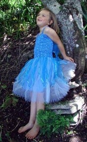 Sky Blue Angel Dress