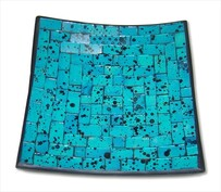 Mosaic Plate - Turquoise