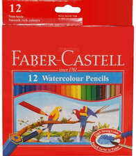 Faber Castell - Water Colour Pencils 12pc