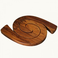 Rimu 2 in 1 Tablemat - Oval / Plain