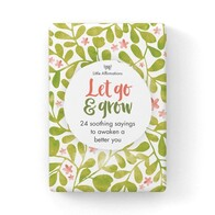 Affirmations Boxed Cards - Let Go & Grow