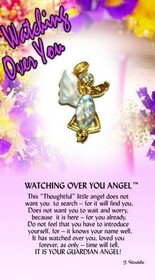 z Affirmation Angel Pin - Watching Over Us