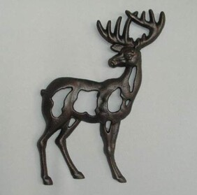 Cast Stag Wall Art