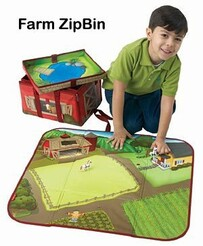 Toy Tote Playmat / Farm / Large