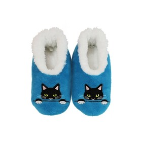 Slippers - Slumbies - Peek A Boo Cat