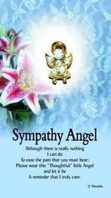 z Affirmation Angel Pin - Sympathy Angel