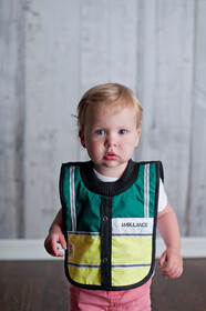 NZ Made Baby Bib / Ambulance