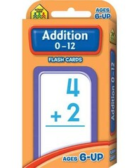 School Zone Flash Cards - Addition 0-12
