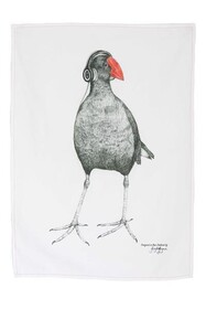 Krystal Lynn Tea Towel - Ecko the Pukeko