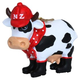 Cow Xmas Ornament