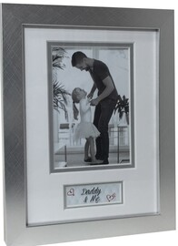Photo Frame - Daddy & Me