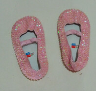 Sequin Shoe - Pink