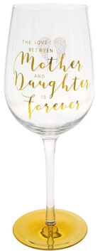 Wine Glass - Mother & Daughter