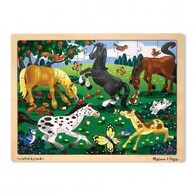 Frolicking Horses Wooden Puzzle