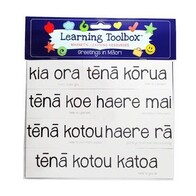 Learning Toolbox Magnets / Te Reo Maori Greetings