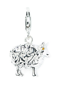 Sterling Silver Charm / Sheep