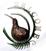 Kiwiana Art - Kiwi Welcome